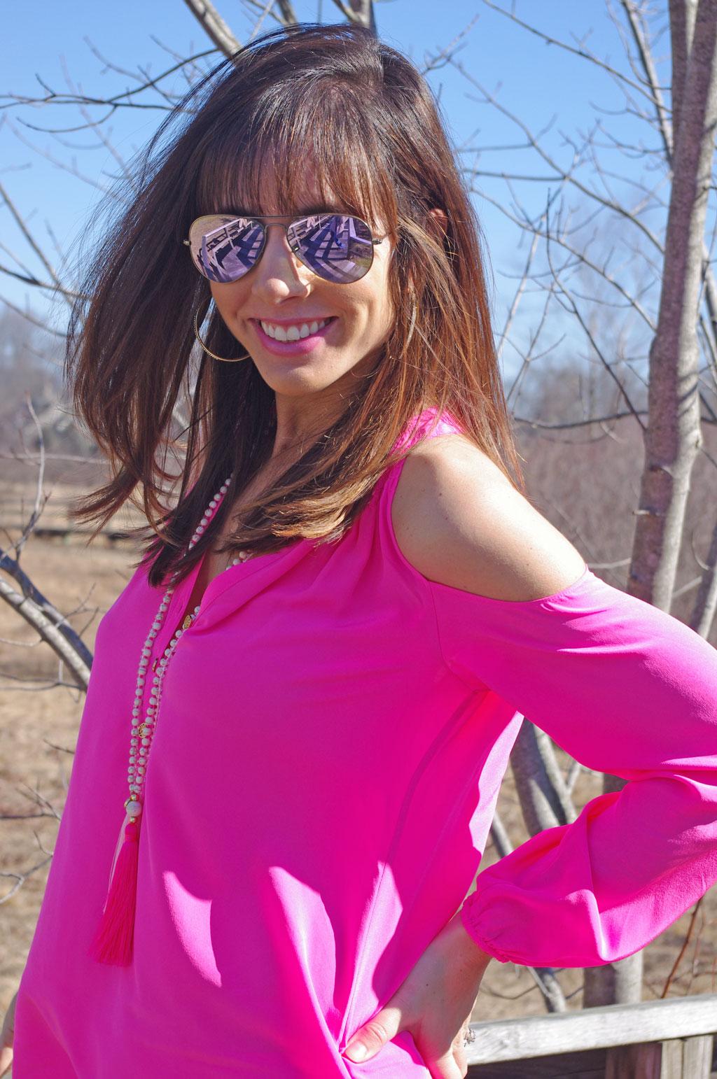 lilly-pulitzer-pink-sunny-shoulder