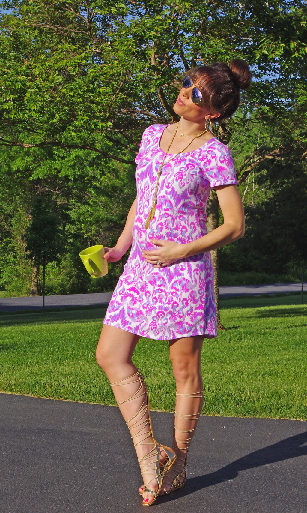 lilly-puliter-short-sleeve-terry-dress