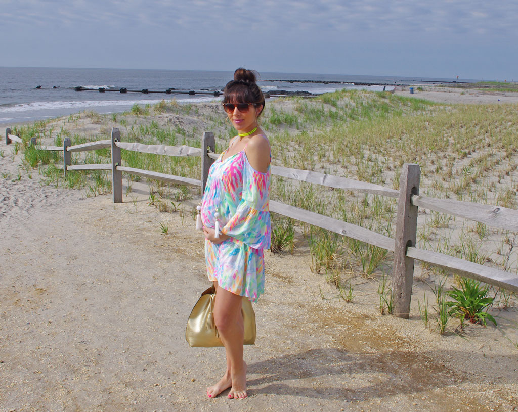 lilly-pulitzer-off-the-shoulder-dress
