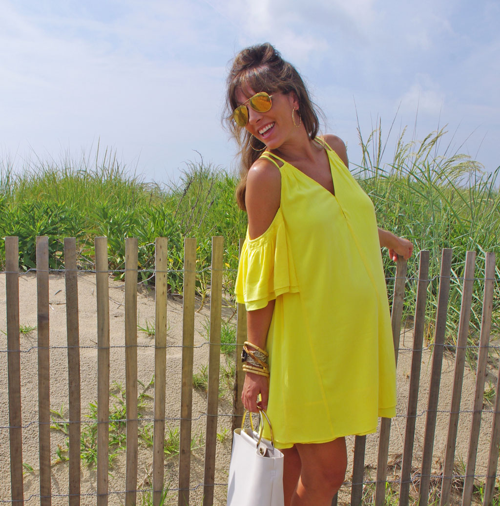 lilly-pulitzer-yellow-sunny-shoulder-dress